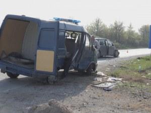 Жандармеристи пострадаха при катастрофа