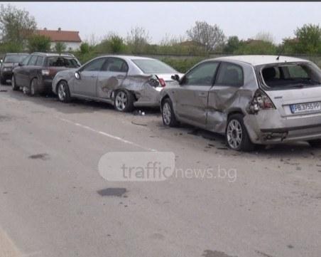 Пияна и надрусана жена е карала джипа, помлял 10 коли в Кючука, арестуваха я СНИМКИ+ВИДЕО