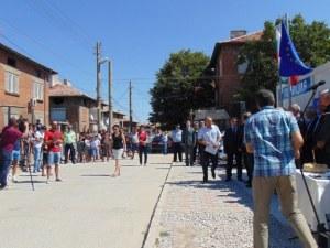 Над 50 души излязоха на протест в ромския квартал в Пазарджик