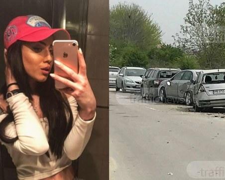 Прокуратурата повдигна три обвинения на Габриела, помела 10 коли край Оазиса