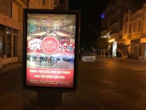 Машала, Риц! Реклама на турски на пъпа на Пловдив СНИМКИ