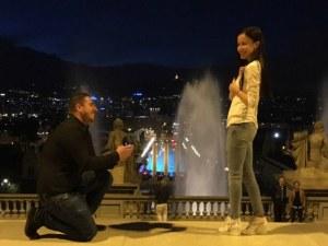 """Габи от пловдивското трио """"Сопрано"""" се сгоди в Барселона"""