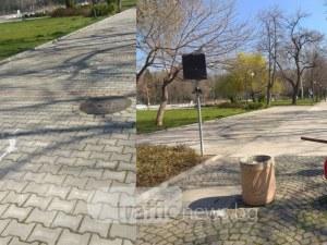 Премахнаха най-странния паркинг в сърцето на Пловдив, който никога не бе използван СНИМКИ