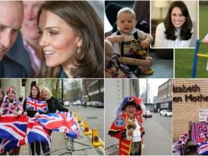 Фенове на Уилям и Кейт окупираха болницата, в която ще се роди третото им дете