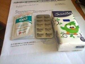 Болна българка подари кърпички за сълзите на управниците ни и... ксанакс за тревогите им