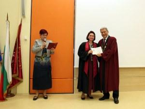 За първи път на церемония връчиха свидетелствата на 115 специализанти в МУ-Пловдив
