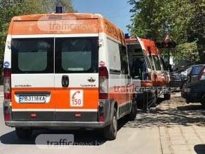 Две линейки и полиция завардиха булевард в Пловдив СНИМКИ
