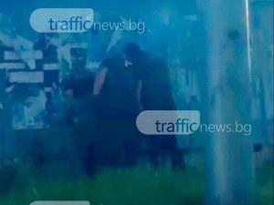 Зрелищна полицейска акция в Шекера, масови арести СНИМКИ