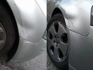 """Съпруга изтряска колата на мъжа си, """"колеги"""" му дават съвети СНИМКИ"""