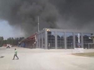 Токсичен пожар в Ксанти, може да евакуират жителите на града