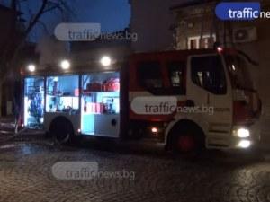 Преди да потрошат колите, четиримата тийнейджъри запалили и помещение от блок в Пловдив