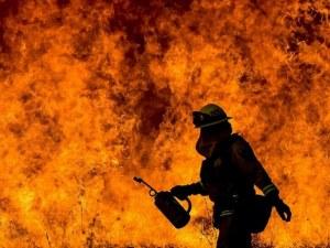 Собственичката на изгорелия склад подозира умишлен палеж ВИДЕО