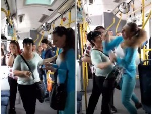 Заложническа драма, обиди и глоби в автобус! Три жени влязоха в схватка ВИДЕО