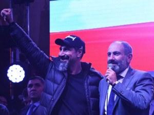 Вокалистът на System of a Down приветства новия арменски премиер