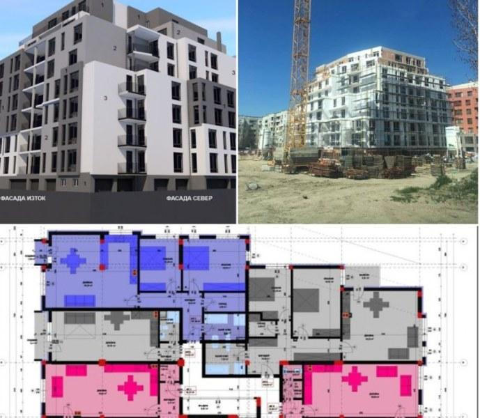 Откриват до месеци първата жилищна сграда, вдигната от голяма пловдивска компания СНИМКИ