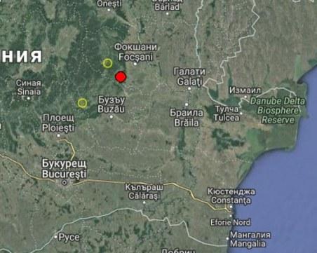 Земен трус с магнитуд 3.4 по скалата на Рихтер разлюля Румъния