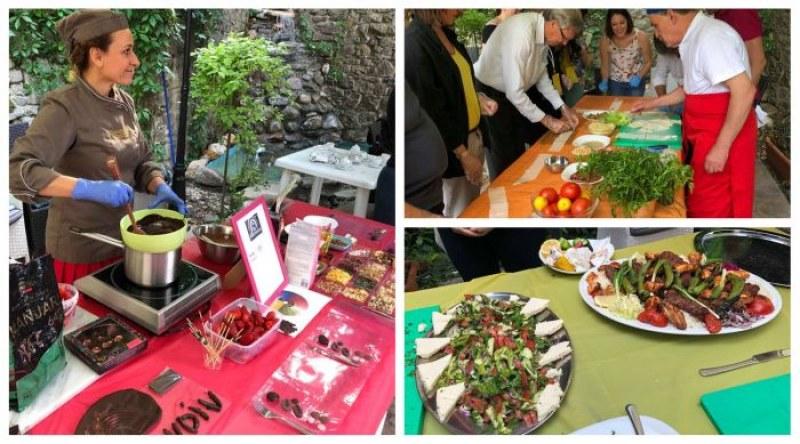 Пловдивчани сготвиха храна от два континента в известен ресторант СНИМКИ