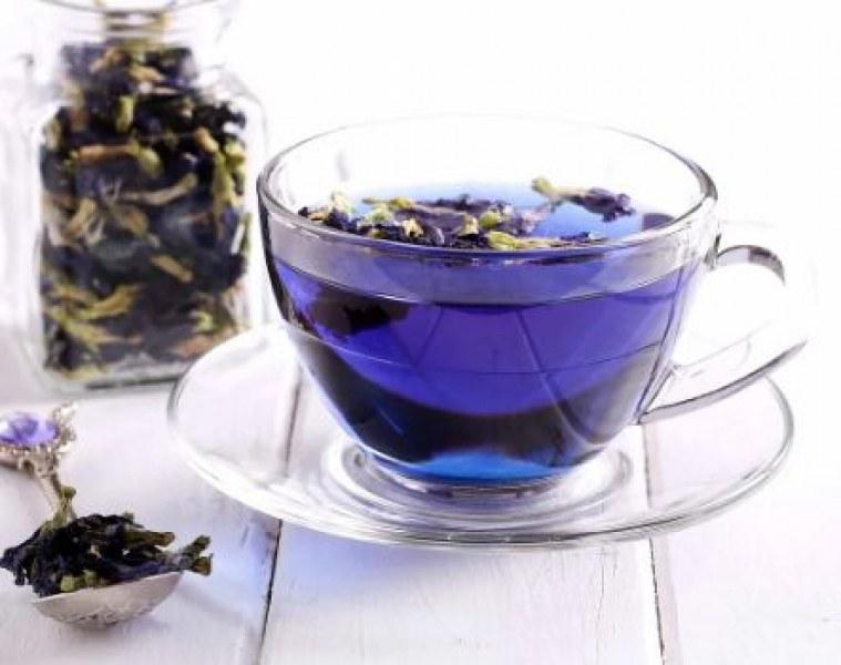 Новото чудо за красота и здраве - син чай