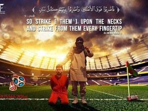 """Ислямска държава """"обезглави"""" Меси и Роналдо"""