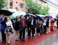 Дъжд, гръмотевици и градушка на абитуриентските балове