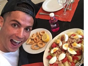 Какво хапва Кристиано Роналдо на закуска, обед и вечеря
