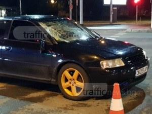 Шофьорът на аудито, ударило пешеходец в Пловдив - 25-годишен мъж, не е консумирал алкохол