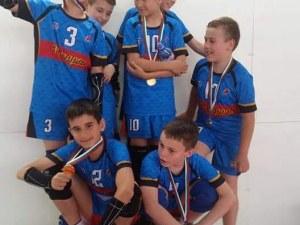 Децата на ВК Строител втори на регионалния шампионат СНИМКИ