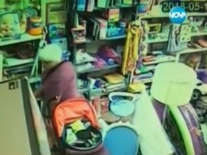 Виждали ли сте тази жена? Обира наред магазини в Пловдив ВИДЕО