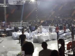 Организаторите на бойното шоу в Колодрума остро осъдиха вандалите ВИДЕО