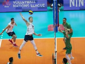 САЩ се оказаха твърде силни за волейболистите ни