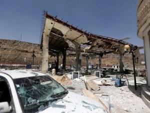 Взривиха бензиностанция в Йемен - четирима са мъртви, а 11 са ранени СНИМКИ