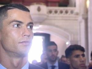 Агентът на Роналдо се издразни на въпрос за бъдещето му