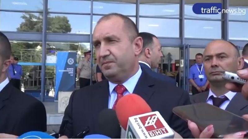 Президентът захапа Борисов в Пловдив: Премиерът идва на кафе в парламента, тръгва си с оставки в джоба