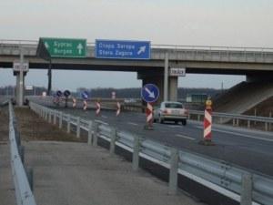 Ремонтът на магистралата край Пловдив приключи, но само в едното платно