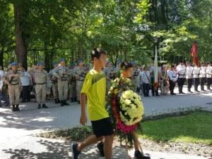 Ботев (Пловдив) се поклони пред своя патрон и пред героите! СНИМКИ