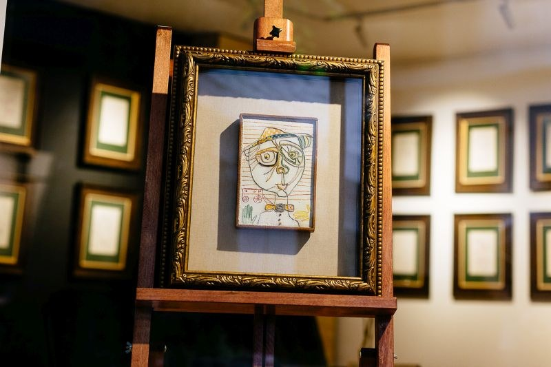 Изключителна рядка колекция на рисунки на Лика Янко представи пловдивската галерия Aeterna