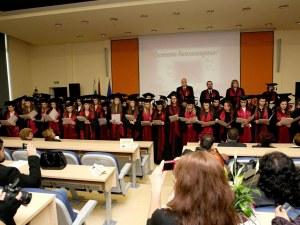 Над 100 отличници взимат дипломи от МУ-Пловдив