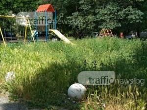 Детска площадка в Смирненски скоро ще заприлича на джунгла СНИМКИ