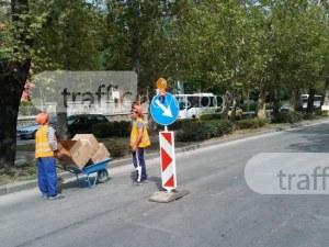 """Полагат последен слой асфалт на """"Руски""""! Затварят част от булеварда днес"""