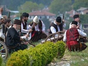 Хайдути въстават срещу башибозука край Хисаря
