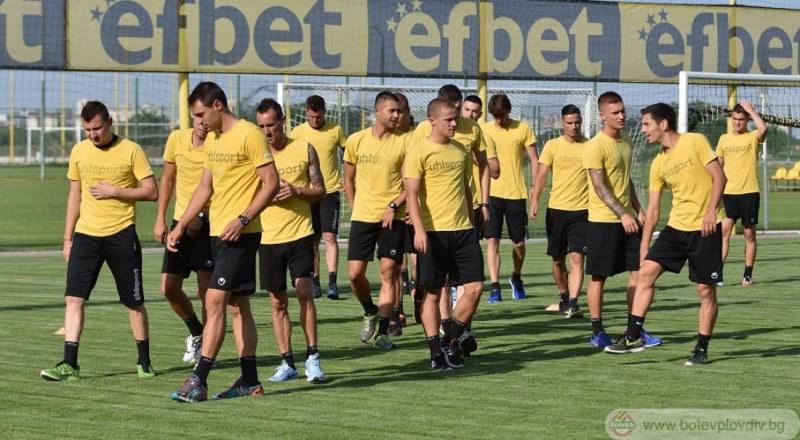 Ботев тръгна за Велинград без Стивън Петков и Лазар Марин