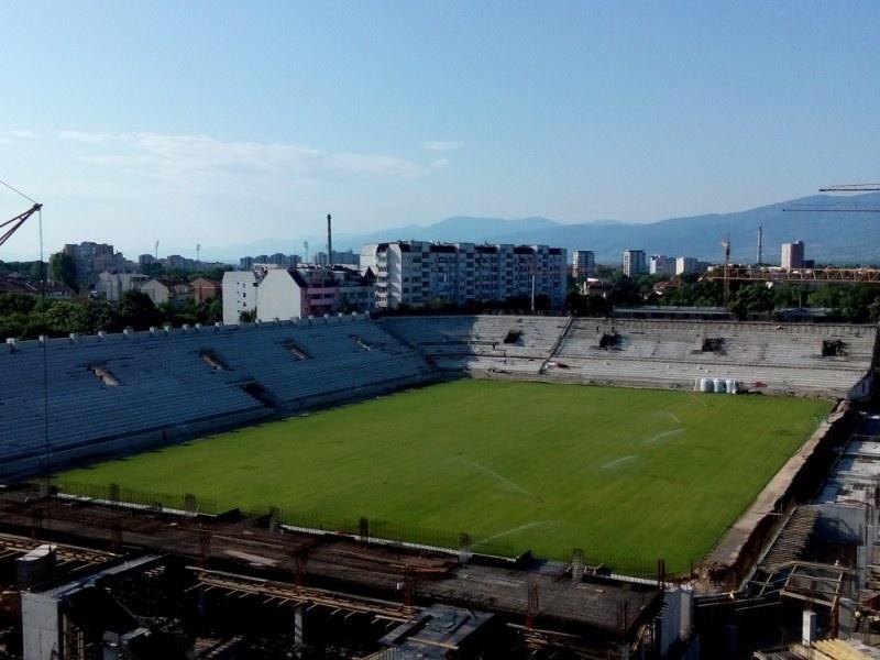 До дни обявяват старта на стадион Христо Ботев