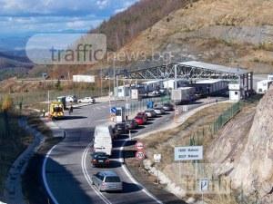 Засилва се трафикът през ГКПП – Маказа