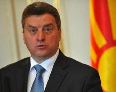 Президентът на Македония коментира отказа на Борисов за среща