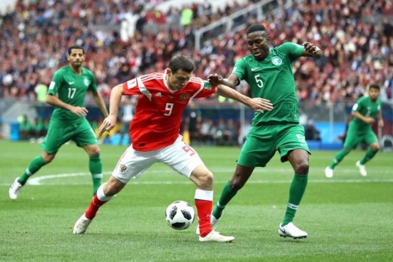 Русия с разгромна победа на старта на Мондиал 2018