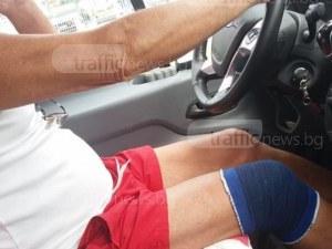Бързи и яростни в пловдивска маршрутка: Шофьор говори по телефона, изпреварва и ругае СНИМКИ