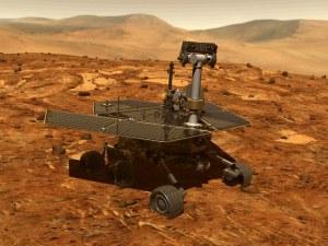 """Пясъчна буря """"приспа"""" марсохода Opportunity"""