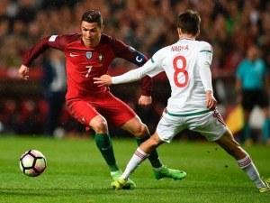 Какъв мач! Испания играеше, Роналдо вкарваше