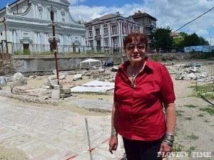Открихме главния западен вход на Епископската базилика СНИМКИ