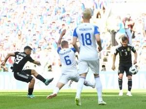 Бойките исландци озаптиха Меси и Аржентина, Лео пропусна дузпа